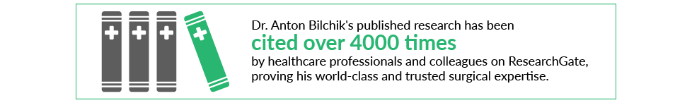 Dr. Anton Bilchik Research Cited on ResearchGate